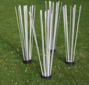 Artificial PVC Fish Attractors for New Pond Construction and Renovation