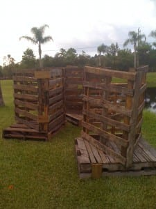 wood pallet fish habitat