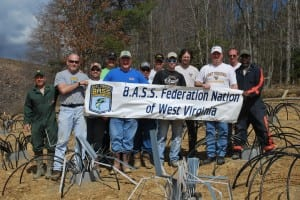 WVBFN leads by example for the B.A.S.S. Federation Nation with Fishiding artificial fish habitat