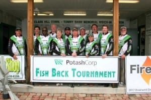 "PotashCorp Sets New Trend In Tournament Bass Fishing""Helping Nature Provide"""