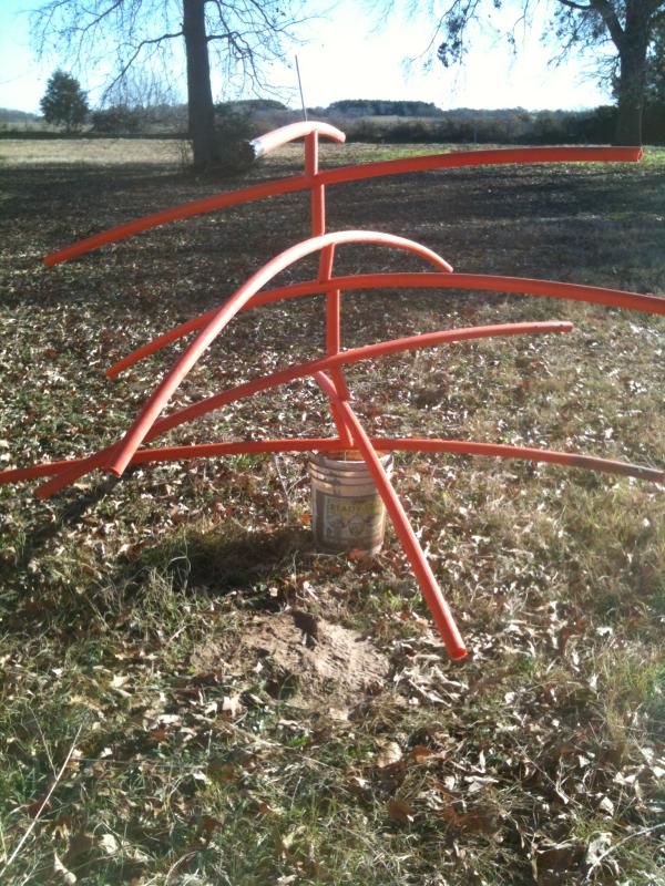 crappie shrub habitat